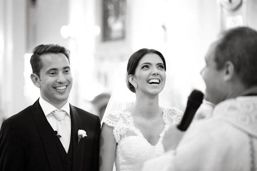 fotografia de casamento Igreja Nossa Senhora do Brasil